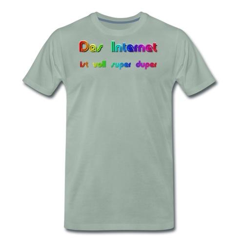 Das Internet (superduper) - Männer Premium T-Shirt