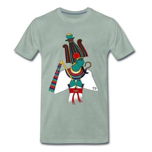 Osiris I altägyptische Gottheit - Männer Premium T-Shirt