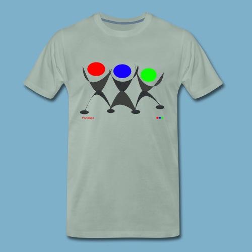 Fundago Logo - Männer Premium T-Shirt