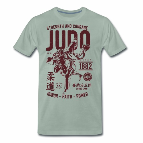 Judo - Männer Premium T-Shirt