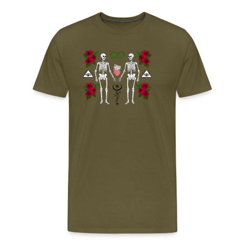 Until Death Do Us Part - Premium-T-shirt herr
