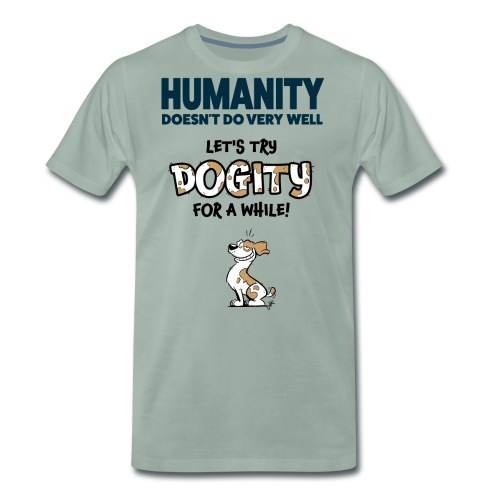 Dogity - Mannen Premium T-shirt