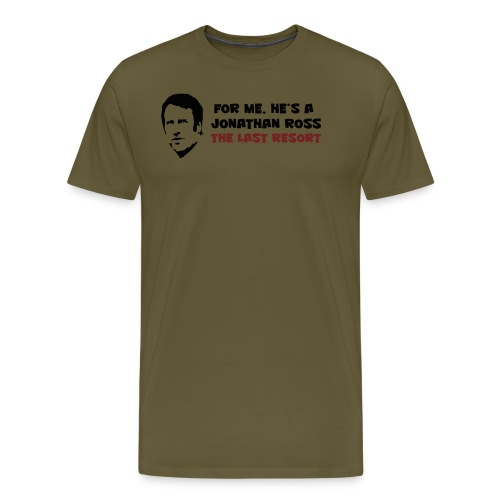 Merse code: Last resort - Men's Premium T-Shirt