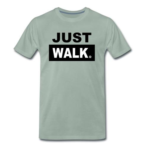 JUST WALK mannen colour - Mannen Premium T-shirt