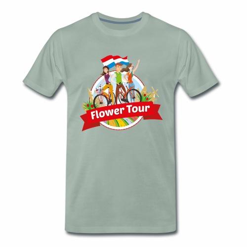 Flower Tour rondom Keukenhof - Mannen Premium T-shirt