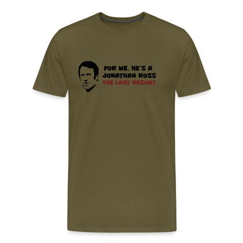 Merse code: Last resort - Men's Premium T-Shirt