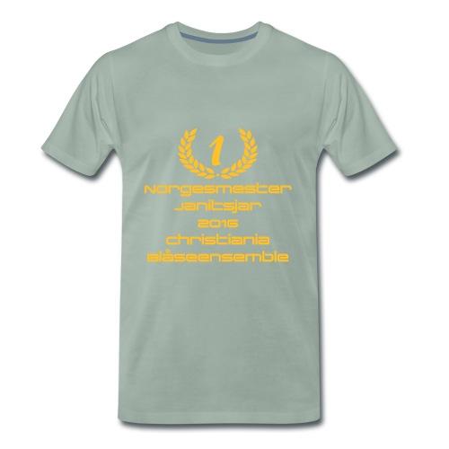 Norgesmester Janitsjarkor - Premium T-skjorte for menn