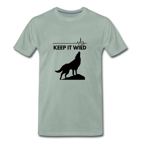 Keep it wild - Männer Premium T-Shirt