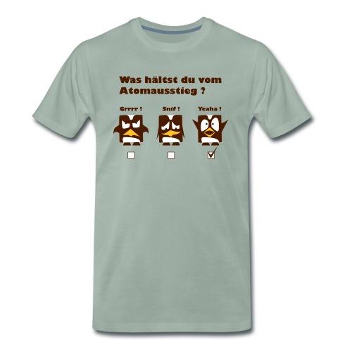 Atomkraft Pinguine - Männer Premium T-Shirt