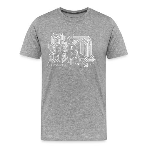 #RU - circuit board - Mannen Premium T-shirt