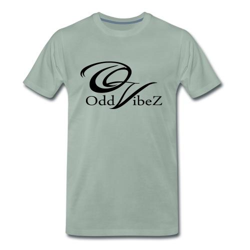 OV-logo-clean-black - Premium-T-shirt herr