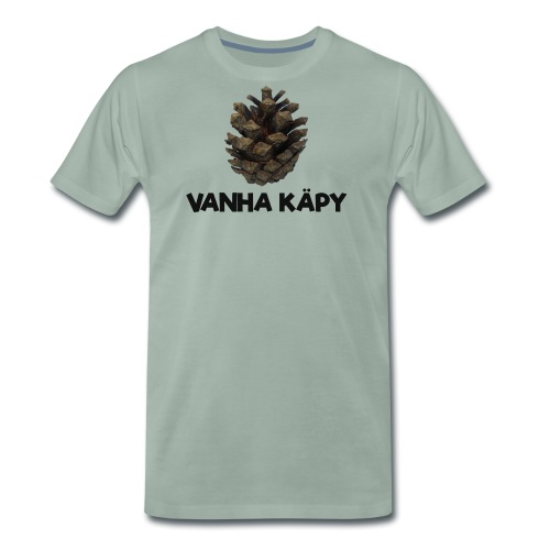 Vanha käpy - Miesten premium t-paita