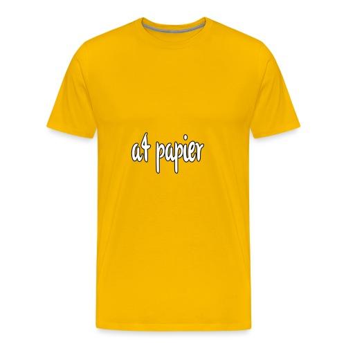 A4Papier - Mannen Premium T-shirt