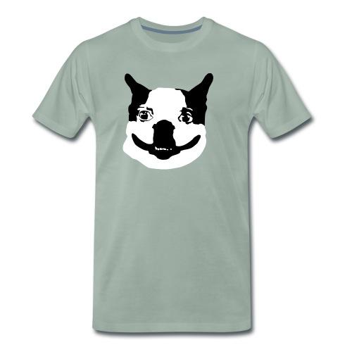 Lennu - Mustavalkoinen - Miesten premium t-paita