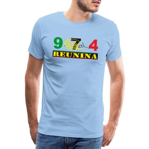 974 ker kreol ikon rasta 01 - T-shirt Premium Homme
