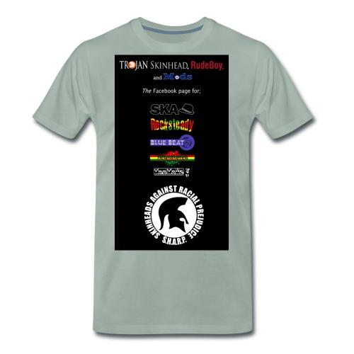 logo stack copy jpg - Men's Premium T-Shirt