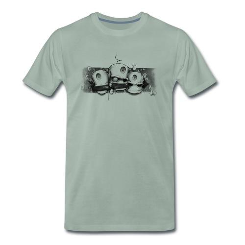 see no evil ! Moe Frisco Ver01 - Herre premium T-shirt