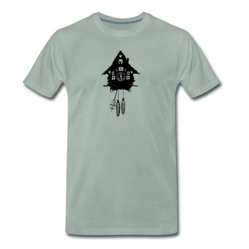 Kuckucksuhr - Männer Premium T-Shirt