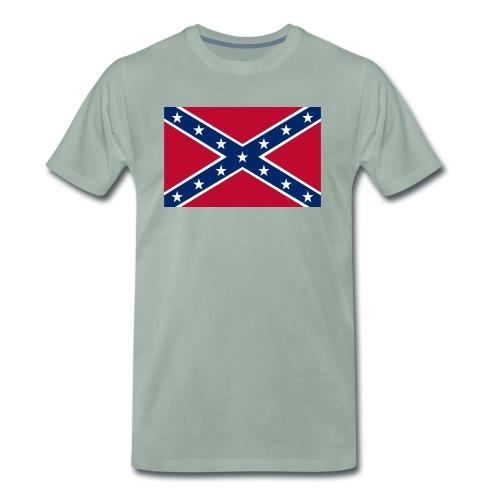 confederateflag - Premium T-skjorte for menn