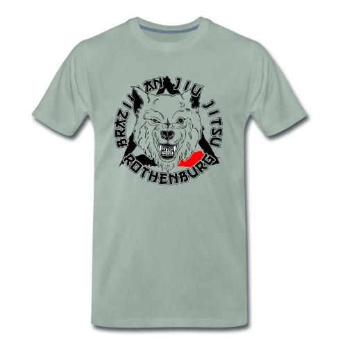 BJJ Wolf - Männer Premium T-Shirt