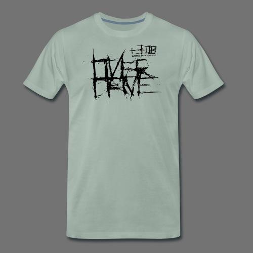 Overdrive - huonompi yhdistelmä imee (musta) - Miesten premium t-paita
