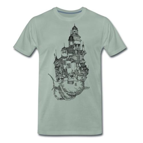 Schnecke - Männer Premium T-Shirt