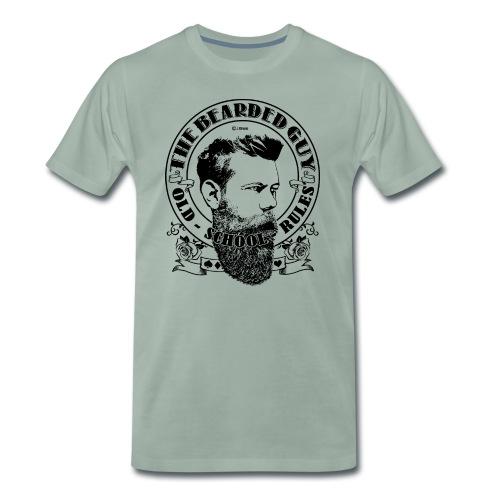 bearded guy 02 - Camiseta premium hombre