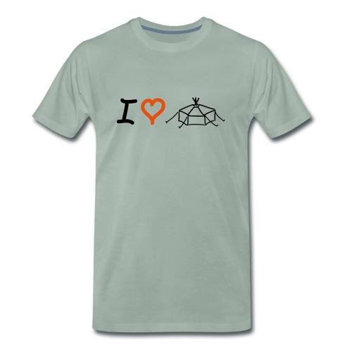 IloveJurte - Männer Premium T-Shirt
