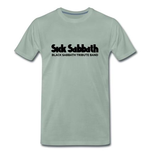 SickSabbath-letters - Mannen Premium T-shirt