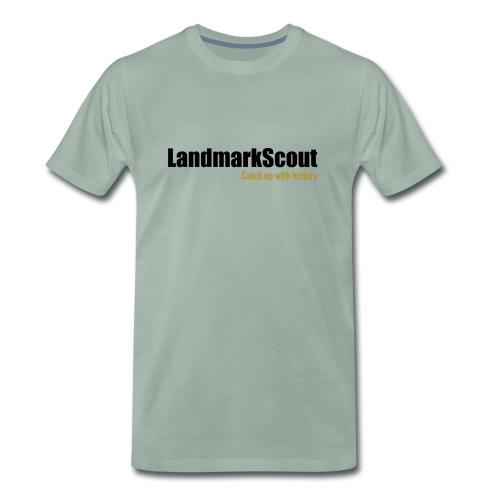 Tshirt Yellow Back logo 2013 png - Men's Premium T-Shirt