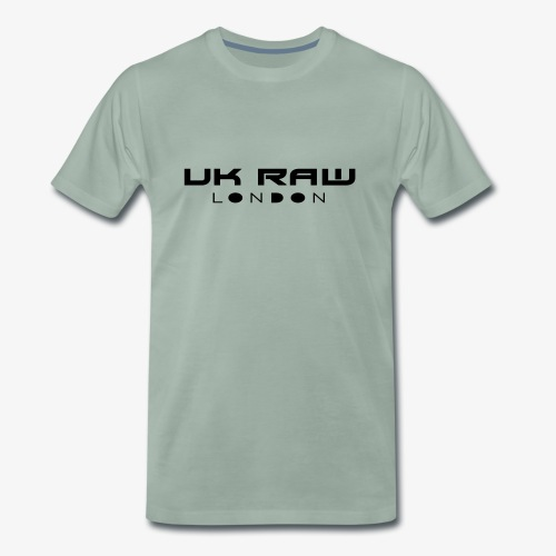 UK Raw London Black - Men's Premium T-Shirt