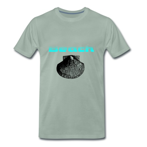 beach - Männer Premium T-Shirt