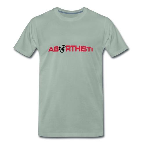 abarthisti no url - Premium T-skjorte for menn