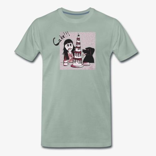 Cake!!! - Men's Premium T-Shirt