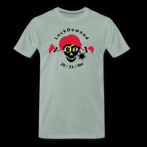 LockDowned - Männer Premium T-Shirt