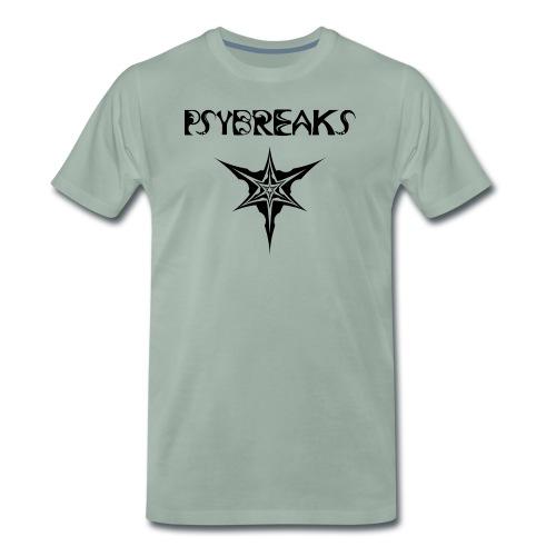 Psybreaks visuel 1 - text - black color - T-shirt Premium Homme