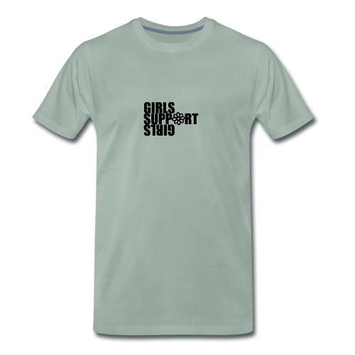 girl support girl - T-shirt Premium Homme