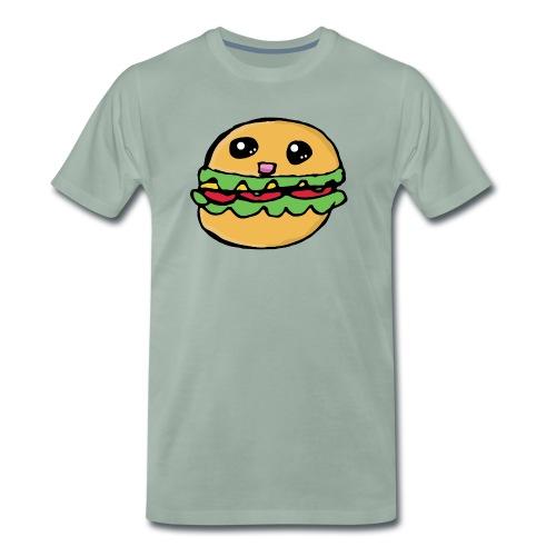 Hamburger kawai - T-shirt Premium Homme