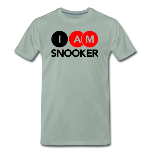 I AM SNOOKER - Men's Premium T-Shirt