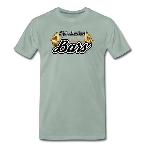 Life Behind Bars (Gold) - Men's Premium T-Shirt
