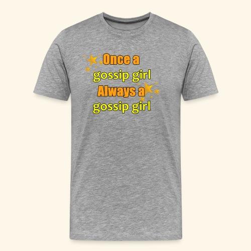 Gossip Girl Gossip Girl Shirts - Men's Premium T-Shirt