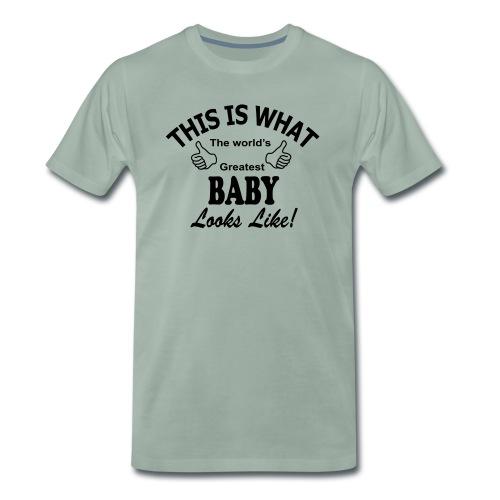 baby world's greatest - Mannen Premium T-shirt