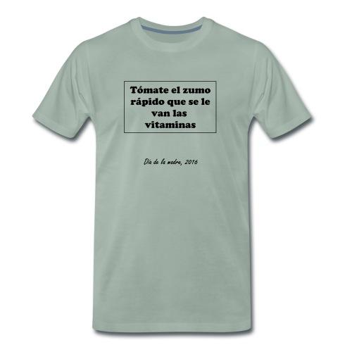 ¡¡¡Las vitaminas!!! - Camiseta premium hombre