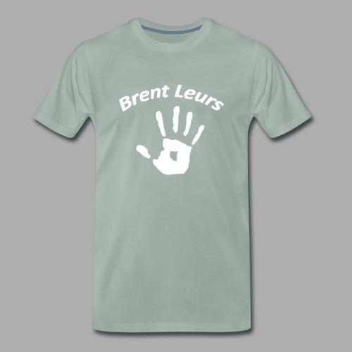 Petje Brent leurs - Mannen Premium T-shirt