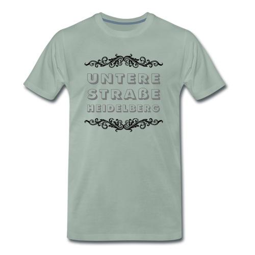 Untere Straße, Heidelberg - Männer Premium T-Shirt