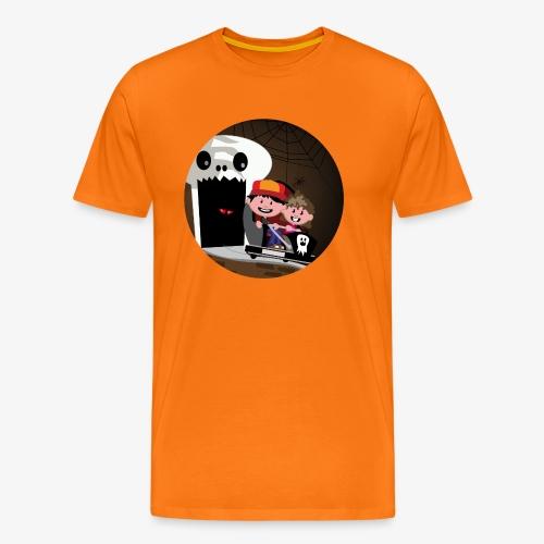 Themepark: Ghostcastle - Mannen Premium T-shirt