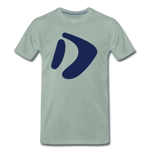 Logo D Blue DomesSport - Männer Premium T-Shirt