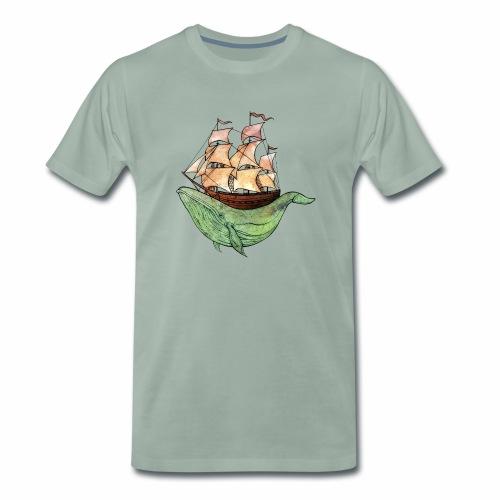 Moby Dick - Männer Premium T-Shirt