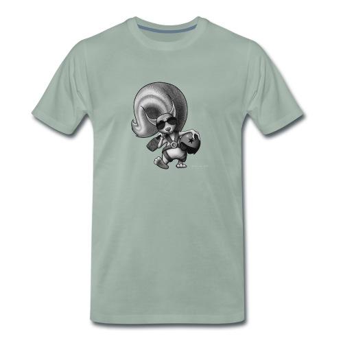 Squirrel Pilot - Männer Premium T-Shirt