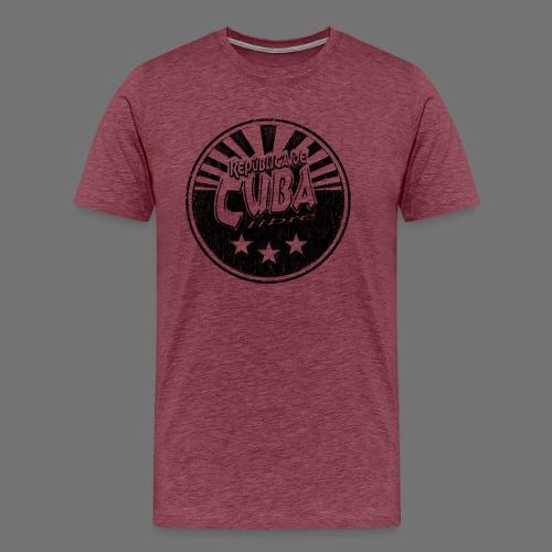 Cuba Libre (1c musta) - Miesten premium t-paita